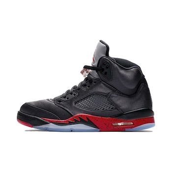 uk availability fc72e 82d7c Nike Air Jordan 5 Retro OG Satin BRED. Black University Red. Style Code   136027-006