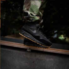 OVERKILL Delivers the Heat with On-Foot Shots of the Nike Air Max 1 Black  Gum 86adcea13