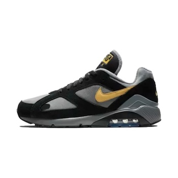 b83ad984c7 Nike Air Max 180 - Black / Wheat Gold - AVAILABLE NOW - The Drop Date