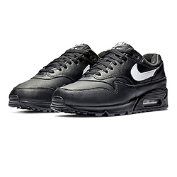 b33959ed1fd Step Correct in the Nike Air Max 90 1 Black and White