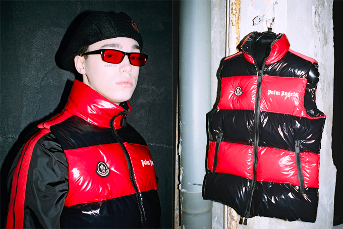 MONCLER GENIUS X PALM ANGELS
