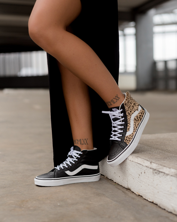 Vans Sk8-Hi Reissue Animal  On-Foot Shots by OVERKILL - The Drop Date a893ed5dd4cf