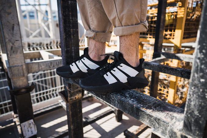 35e19c35196 Take a closer look at the exaggerated sole of the ADIDAS PROPHERE with  these on-feet shots by OVERKILL.