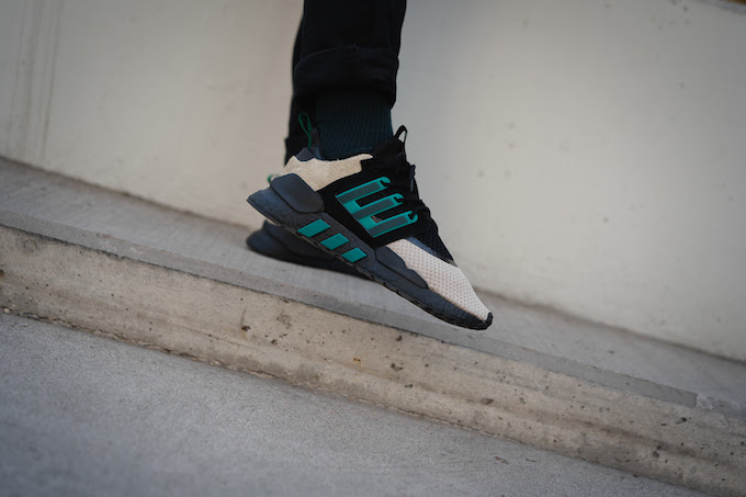 online store 6fa2d cf4f2 ... adidas Consortium x Packer Shoes EQT 9118 On-Foot by OVERKILL sneakers  70486 81cc5