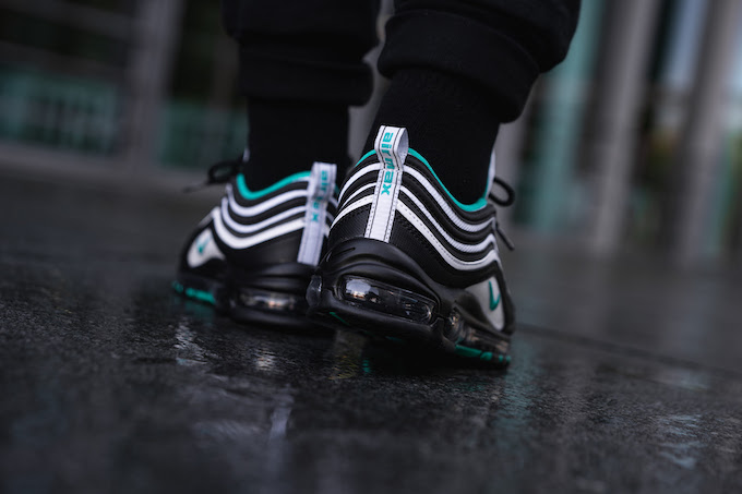 e167f19ce0 No official release date has been given for the NIKE AIR MAX 97 CLEAR  EMERALD is AVAILABLE NOW: hit the banner below to pick up a pair at  OVERKILL today.