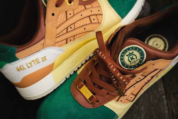 24 Kilates x ASICS TIGER Gel Lyte II Express: On Foot by