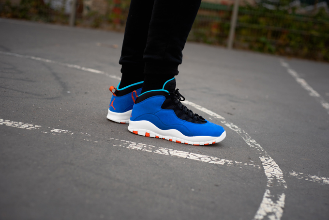 54ee78c25ce4 Nike Air Jordan 10 Retro Tinker  On-Foot Shots from OVERKILL - The ...