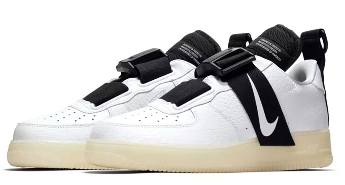 Strap up and Stay Tactical with the Nike Air Force 1 Utility