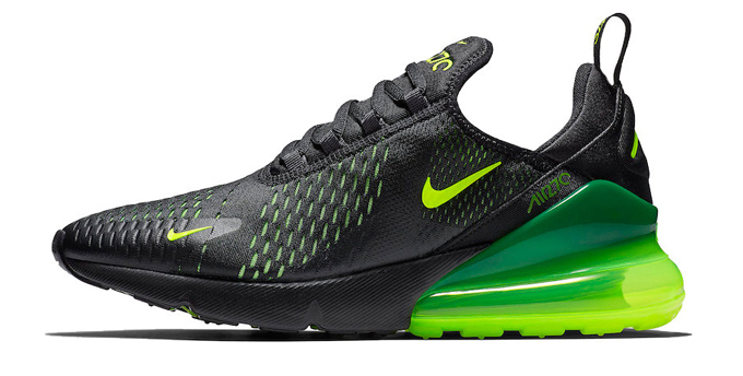 9dcc8aaa93 High Voltage Appliance: Nike Air Max 270 Slime - The Drop Date