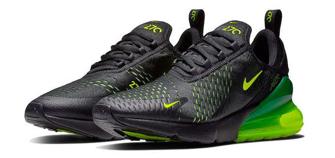 brand new d1f79 d34f5 High Voltage Appliance: Nike Air Max 270 Slime - The Drop Date