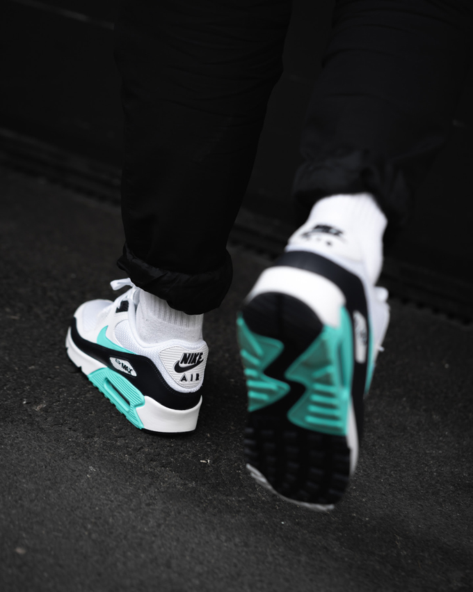 Nike Air Max 90 Aurora Green: On Foot Shots by OVERKILL