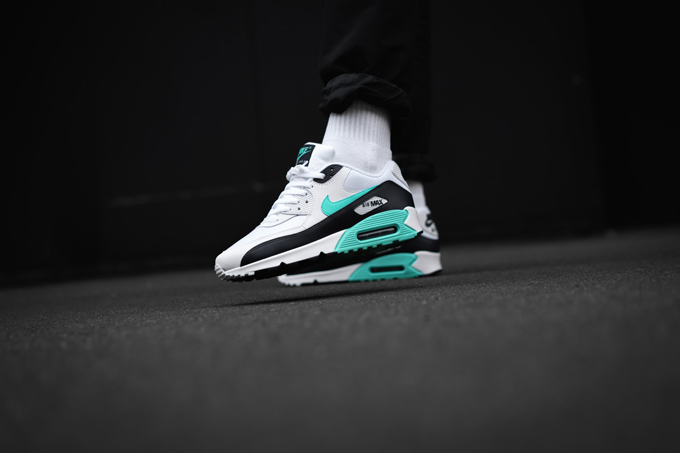 buy popular 72774 529a5 Nike Air Max 90 Aurora Green: On-Foot Shots by OVERKILL ...