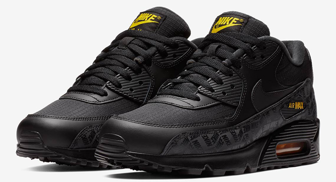 competitive price 90156 16b80 Stay Lowkey with the Nike Air Max 90 Black and Amarillo - The Drop Date