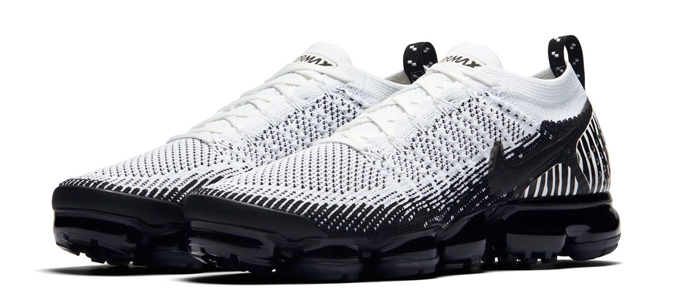 newest 8dc3e 28d36 Available Now: Nike Air VaporMax Flyknit 2 Zebra - The Drop Date