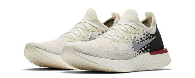 159817c98c17 Cookies n  Cream Dream  Nike Epic React Flyknit Light Cream and Black