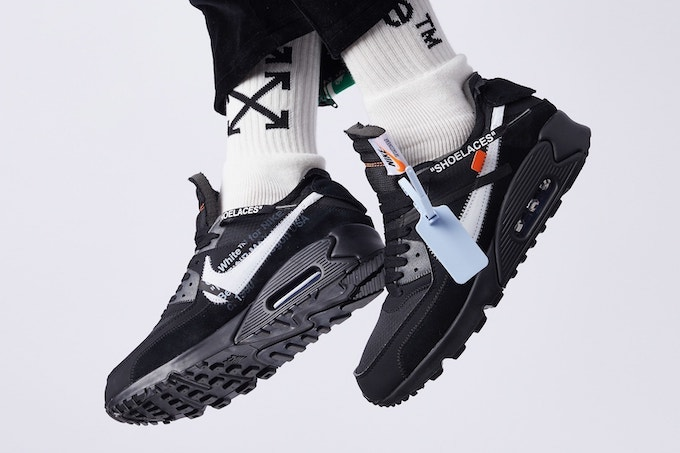 wholesale dealer e7b1c db8de Opposites Attract: A Look at the Nike x Off-White Air Max 90 ...