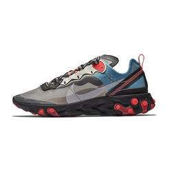 Nike React Element 87 Blue Chill and Solar Red