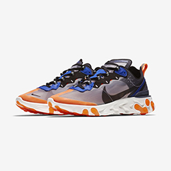 hot sale online 212ea 37d99 Let Your Sole Glow with the Nike React Element 87 Total Orange