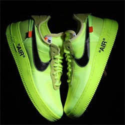 EARLY LOOK: OFF WHITE NIKE AIR FORCE 1