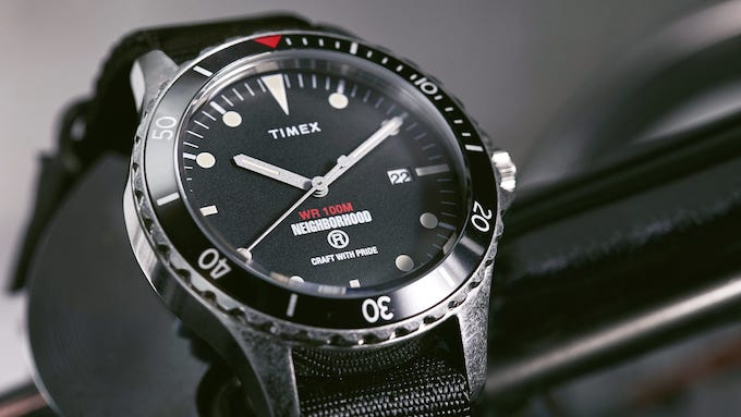The END x Timex x Neighborhood 18004 Watch is Crafted with Pride - The Drop Date