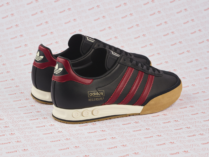 adidas Originals Archive Kegler Super OG Black and Burgundy  a size ... 1cf18bda6