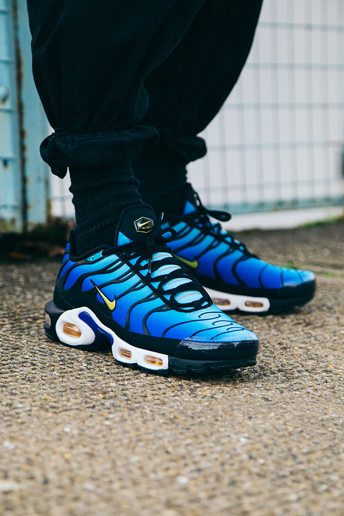 san francisco 189a8 cd1d8 Nike Air Max Plus OG Hyper Blue