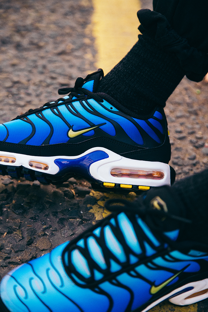 entire collection order online uk store Nike Air Max Plus OG Hyper Blue: On-Foot Shots - The Drop Date