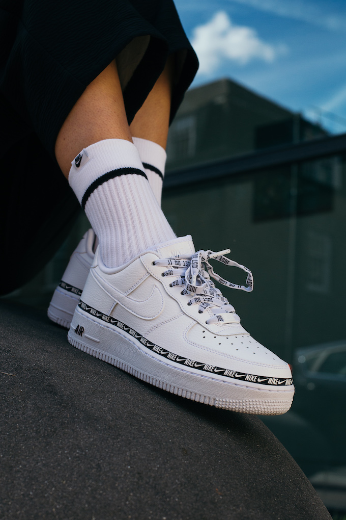 Nike Air Force 1 07 SE Premium Overbranded: On-Foot Shots ...