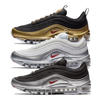 b710082e0f1 Nike Air Max 97 - Metallic Pack - AVAILABLE NOW - The Drop Date