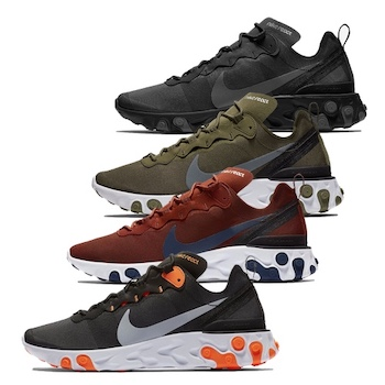 7452ba99b70a1 Nike React Element 55 - AVAILABLE NOW - The Drop Date