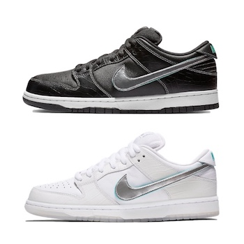 new product ddacb 7506a Nike SB x DIAMOND SUPPLY DUNK LOW - 10 NOV 2018 - The Drop Date