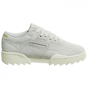 REEBOK WORKOUT RIPPLE COLD GREY & CHALK