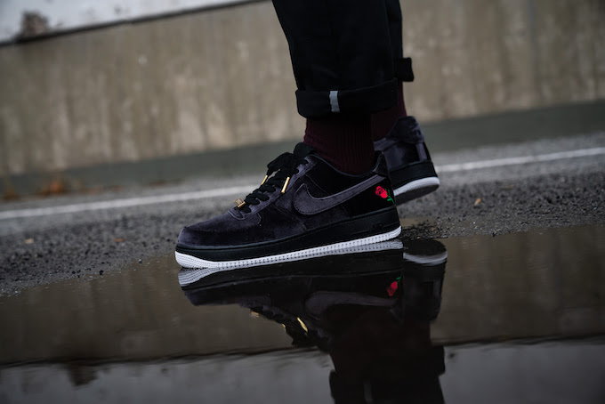 Nike Air Force 1 07 QS Rose: On Foot by OVERKILL The Drop Date