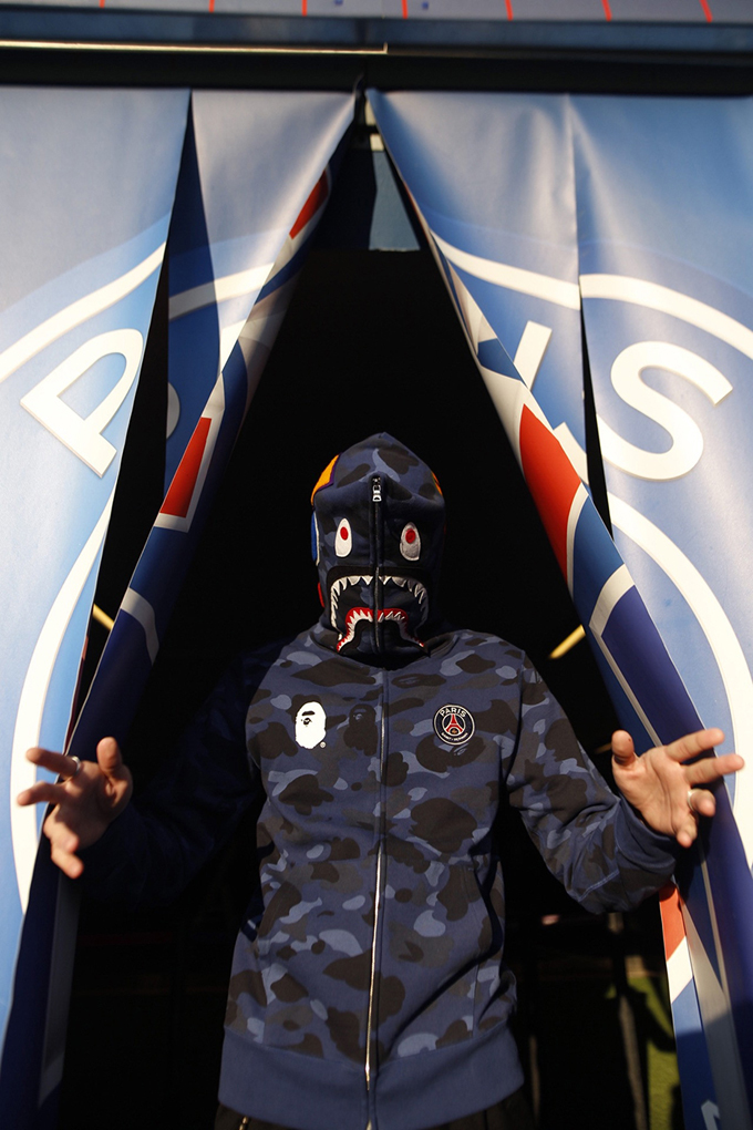 Go Ape With The Psg X Bape Collection The Drop Date