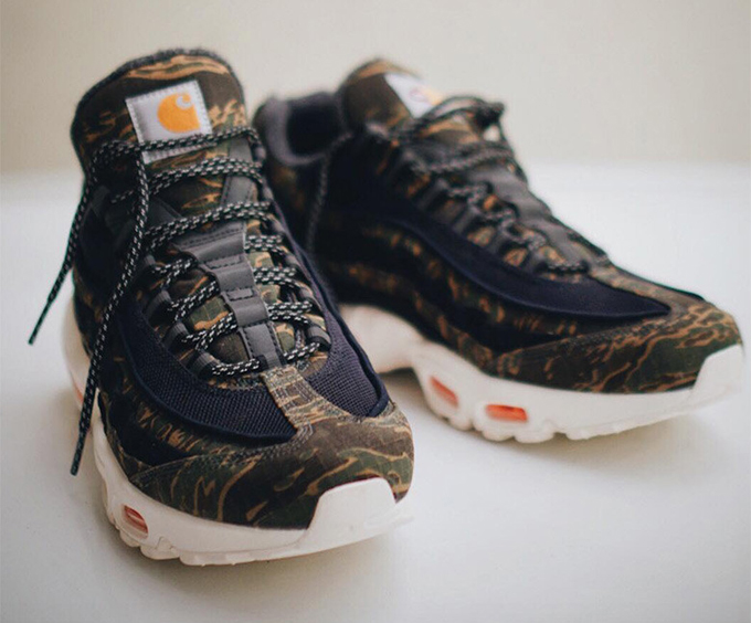 free shipping ca56d 7a278 Tiger Style Meets Workwear with the Carhartt x Nike Air Max ...