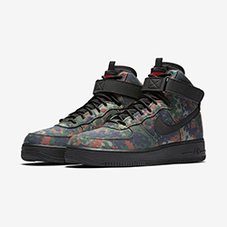 superior quality 9351d 2b501 More Country Camo with the Nike Air Force 1 High 07 LV8 Flecktarn Camo