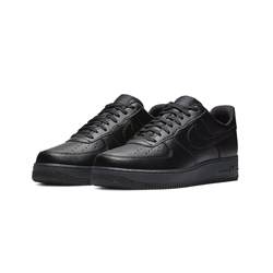 f2c4eb871f7fe4 The Nike Air Force 1 Flyleather Triple Black Drops This Friday