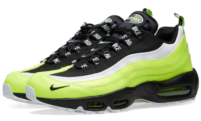 de9815dcee Get ready for a high voltage kick with the NIKE AIR MAX 95 PREMIUM VOLT…