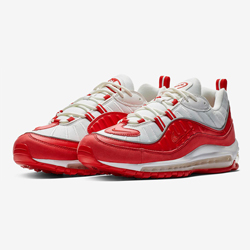 quality design 29b88 6acf7 The Nike Air Max 98 University Red is a Real Headturner