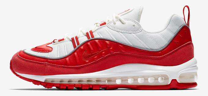 The Nike Air Max 98 University Red is a Real Headturner