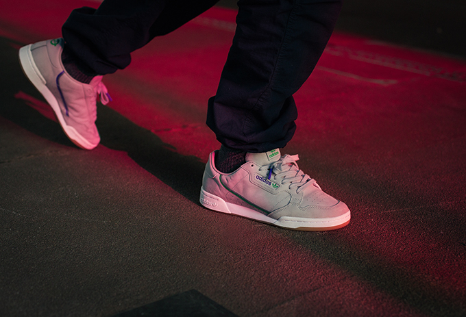 2197b8fdcf adidas Originals x TFL Continental 80  On-Foot Shots - The Drop Date