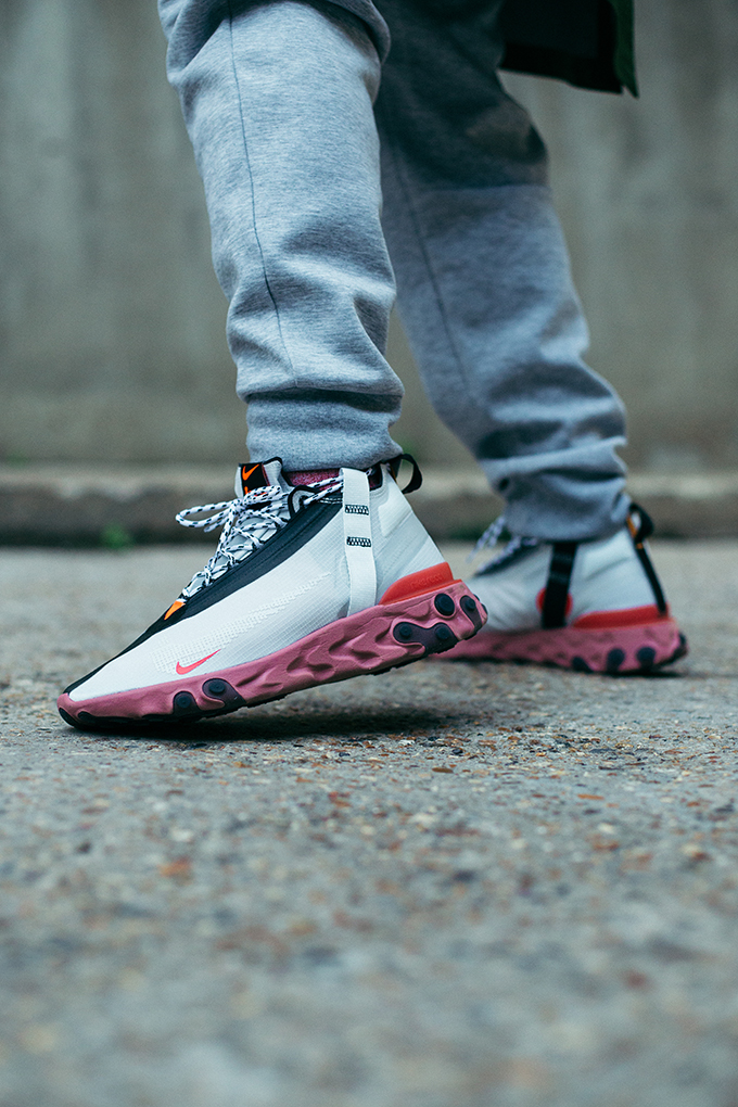 Nike React Runner Mid WR ISPA: On-Foot Shots - The Drop Date