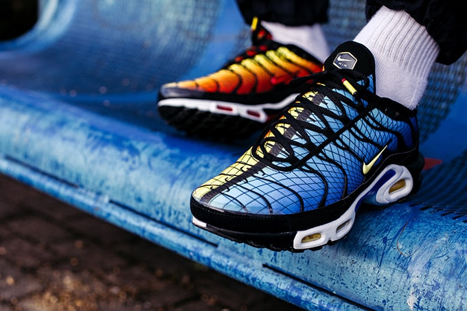 buy popular a5a7a e328e Curb Your Hunger  On-Foot with the Nike Air Max Plus Greedy