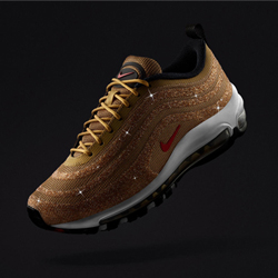 5c2871c44368 All That Glitters  the Nike Air Max 97 LX Gold