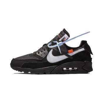 Nike x Off White Air Max 90 BLACK AVAILABLE NOW The