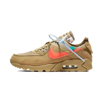 Mojado Hablar con Acera  Nike x Off White Air Max 90 - DESERT ORE - AVAILABLE NOW - The Drop Date