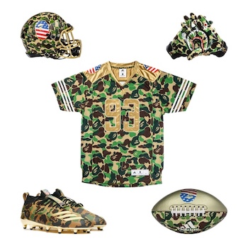 0bccb289b8e5c adidas Consortium x Bape - Superbowl Collection - AVAILABLE NOW ...