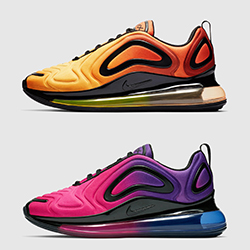 65f79325ad73f4 The Nike Air Max 720 Spans Sunrise to Sunset
