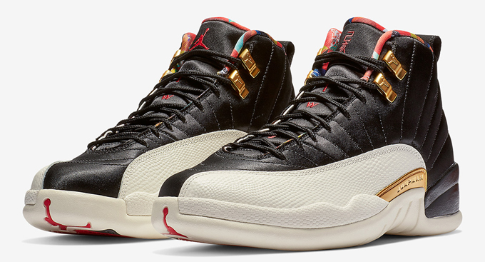 grand choix de 2039c 3e2ad Ready up for the Nike Air Jordan 12 Chinese New Year - The ...