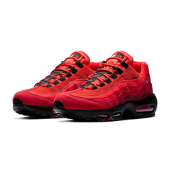 fe3c01c7e6 The Nike Air Max 95 Habanero Red is Scorching Hot